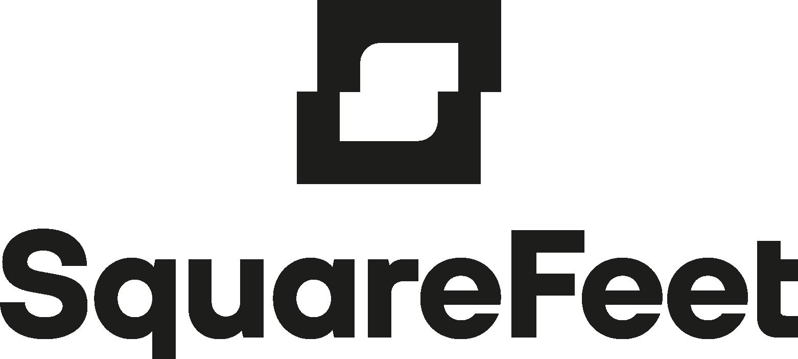 Square Feet Logo Stack